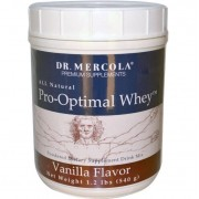 Dr. Mercola Pro-Optimal Whey Vanilla Flavor (540 Gram) - Dr. Mercola