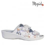 Papuci dama ortopedici 261912/51-07/07/Alb-Floral/Ofelia