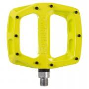 DMR V12 Flat Pedal - 9/16 - Yellow