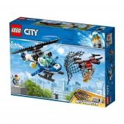 POLICIA AEREA A LA CAZA DEL DRON - LEGO CITY