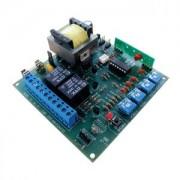 Central Placa Eletrônica Automatizador Motor Peccinin P2000 Blue Ipec Rx433mhz