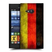 Husa Nokia Lumia 730 / Lumia 735 Silicon Gel Tpu Model Germany Flag