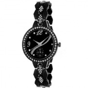 TRUE CHOICE TC 041 BLACK BEALT BLACK DAIL SUPER NEW YEAR 2019 WATCH FOR GIRLS.