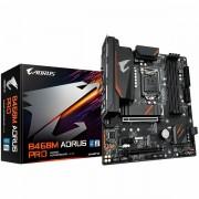 GIGABYTE Mainboard Desktop B460 (S1200, 4xDDR4, HDMI, DVI-D, DP, 1xPCIex16, 1xPCIex4, 1xPCIex1, ALC887, 8118 Gaming GbE LAN, 6xSATA III RAID, 2xM.2, USB 3.2A, USB3.2C, USB 2.0) mATX retail B460M_AORUS_PRO