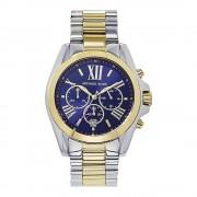 Michael Kors Watches Michael Kors horloges Mk5976 Bradshaw blauw & twee Tone Stainless S...