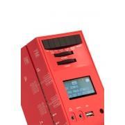 Brionvega-Radio grattacielo rosso RR327 Rot DAB