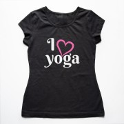 Tricou Femei I Love Yoga