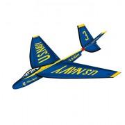 """X-Kites Flex Wing Glider Blue Angels Jet 3D Flyer Kite, 25"""""""
