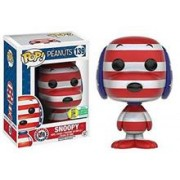 Figurina Pop! Animation Peanuts Rock The Vote Snoopy Red White & Blue