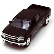 Chevy Silverado Pickup Truck Black - Jada Toys Just Trucks 97017 - 1/32 scale Diecast Model Toy Car
