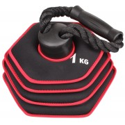 Sport season kettlebell din neopren, greutate reglabila 10 kg