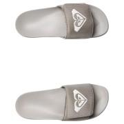 Roxy Womens Slippy Slide Sandal Grey Ash