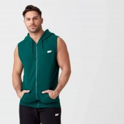 Myprotein Tru-Fit Sleeveless Hoodie - S - Dark Green