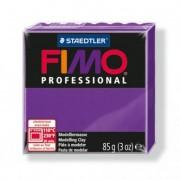Gyurma, 85 g, égethető, FIMO Professional, lila