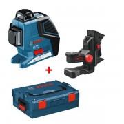 Bosch Laser Ligne GLL 3-80 P BOSCH + Support BM1 Plus Coffret L-BOXX - 0601063309