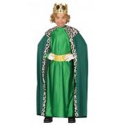 Costum Craciun copii Mag cu verde