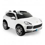 Coche Infantil Porsche Cayenne S Blanco - Injusa