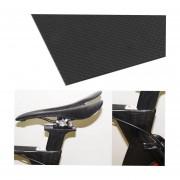 100% Real De Fibra De Carbono 3K Plain Weave Hoja De Chapa Para Drones-Negro