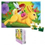 48-Piece Floor Puzzles for Kids - Garden Fairy Jumbo Jigsaw Puzzle, 1.9 x 2.9 Feet