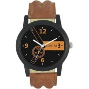 New Lorem Latest Designing Stylist Professional Analog Brown Watch For Men Boys