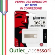 Penna USB Pendrive Kingston 16gb DT-SE9H DataTraveler