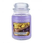 Yankee Candle Lemon Lavender candela profumata 623 g unisex