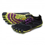 Vibram V Run Woman Black/Yellow/Purple - Teen Schoenen