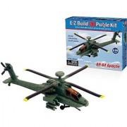 E-Z Build Puzzle - AH-64 Apache Helicopter