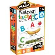 Joc Tactil Montessori Abc Headu