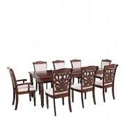 Harshita Handicraft's Carved chair royal 8 seater sheesham wood dinihng set