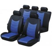 Walser Autositzbezug FELICIAS, blau mit Prägung