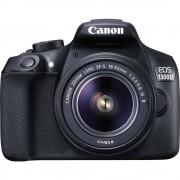 Digitalna zrcalno refleksna kamera EOS 1300D set Canon uklj. EF-S 18-55 mm IS II 18 mil. piksela crna Full HD video, WiFi, prikl