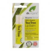 Dr. Organic bio teafa ajakbalzsam - 5.7 ml