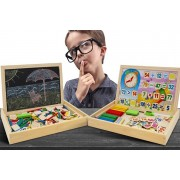 Doodle Blackboard & Wooden Maths Learning Set