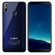 [HK Stock] CUBOT R11 2GB+16GB Dual Back Cameras Fingerprint Identification 5.5 inch Android 8.1 MTK6580 Quad Core up to 1.3GHz Network: 3G Dual SIM(Blue)