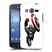 Husa Samsung Galaxy Core 4G LTE G386F Silicon Gel Tpu Model Captain America Figure