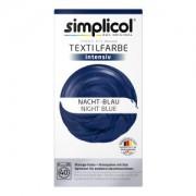 Brauns-Heitmann GmbH & Co. KG simplicol intensiv Textilfarbe, Flüssige Farbe und Fixierpulver mit Salz, Farbe: Nacht-Blau