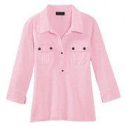 Saint James blouse-shirt, 38 - roze