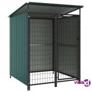 vidaXL Vanjski kavez za pse 133 x 133 x 164 cm