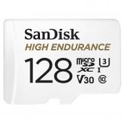 SanDisk High Endurance microSD-Karte mit SD-Adapter, 128 GB, Class 10, U3, V30