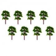 ELECTROPRIME 20Pcs Banyan Tree Yellow Fruit Model Trees Landscape Scenery DIY 1/100 Scale