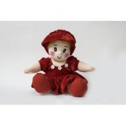 Baby Doll Girl Pram Baby Red Color by Lovely Toys