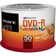 Medii de stocare sony DVD-R 4,7GB 16X inkjet 50buc PRINT CAKE. (50DMR47PP)