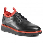 Ниски обувки TOMMY HILFIGER - Mb Lace Up Derby 2A FM0FM03167 Black/Princeton Orange 0GP