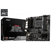 MB, MSI B550M PRO-VDH WiFi /AMD B550/ DDR4/ AM4 (911-7C95-008)