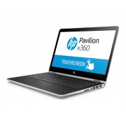 "HP Pavilion x360 14-ba009nm i3-7100U/14""FHD Touch IPS/8GB/1TB+128GB/HD 620/Win 10 H/Silver (2NN17EA)"