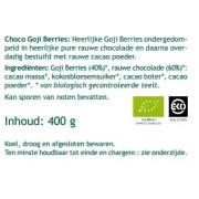 Chocolade Goji Bessen - 400 gram Mattisson