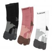 Locox バイタルウォーク足袋型フットサポーター 3色組【QVC】40代・50代レディースファッション