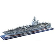 USS NIMITZ CVN-68 US Navy World War II Super Carrier Warship Collectible Fun Educational 3D Assembly Puzzle Model Toy 128 pieces