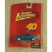 JOHNNY LIGHTNING 1965 FORD MUSTANGE CELEBRATING FORTY YEARS DIE CAST BLUE